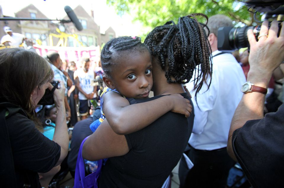 The four-year-old daughter of Diamond Reynolds, who was in the car when Philando Castile was fatally shot during a traffic st
