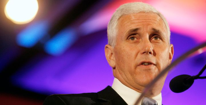 Indiana Gov. Mike Pence is reportedly Donald Trump's vice presidential running mate.