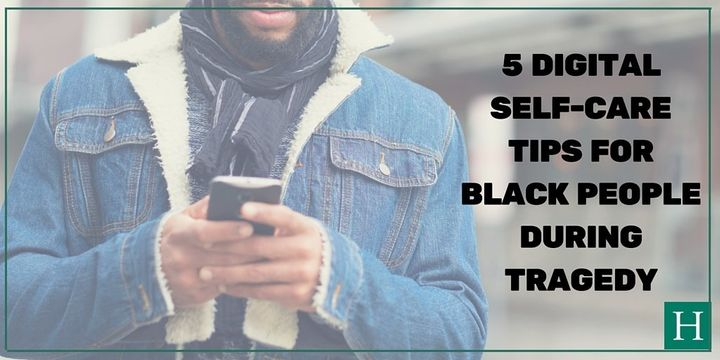 Practicing good habits online will help keep your mental and emotional health up to par when dealing with race-related trauma.