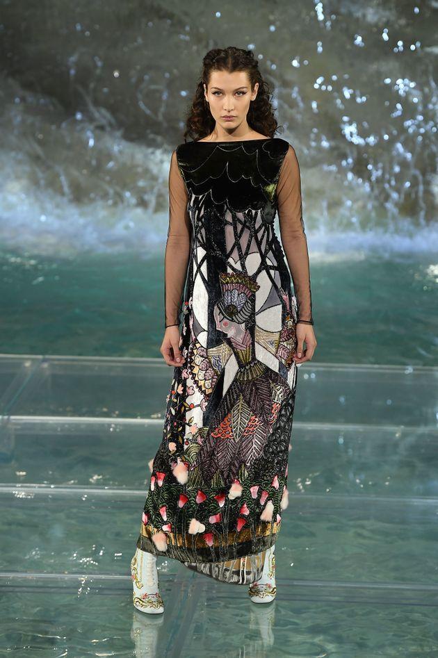 Bella Hadid models for