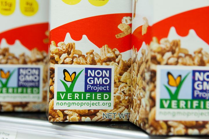 The law would require products to display GMO contents with words, pictures or a bar code that can be scanned with smart