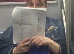 Women Breaks The Internet By Printing Out Facebook Comments To Read On The Subway