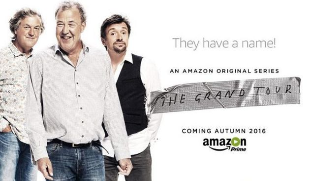 Clarkson and co are making their way to the UK to film one of their new