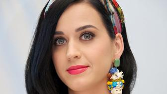 CANCUN, MEXICO - APRIL 22:  Katy Perry at 'The Smurfs 2' Press Junket on April 22, 2013 in Cancun, Mexico.  (Photo by Vera Anderson/WireImage)
