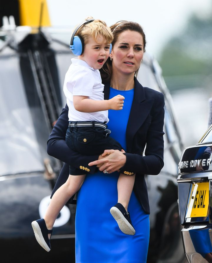 """You want me to get in WHAT?"" -- Prince George, probably."