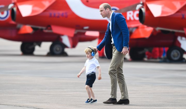 """Scratch my head, Dad"" -- Prince George, apparently."