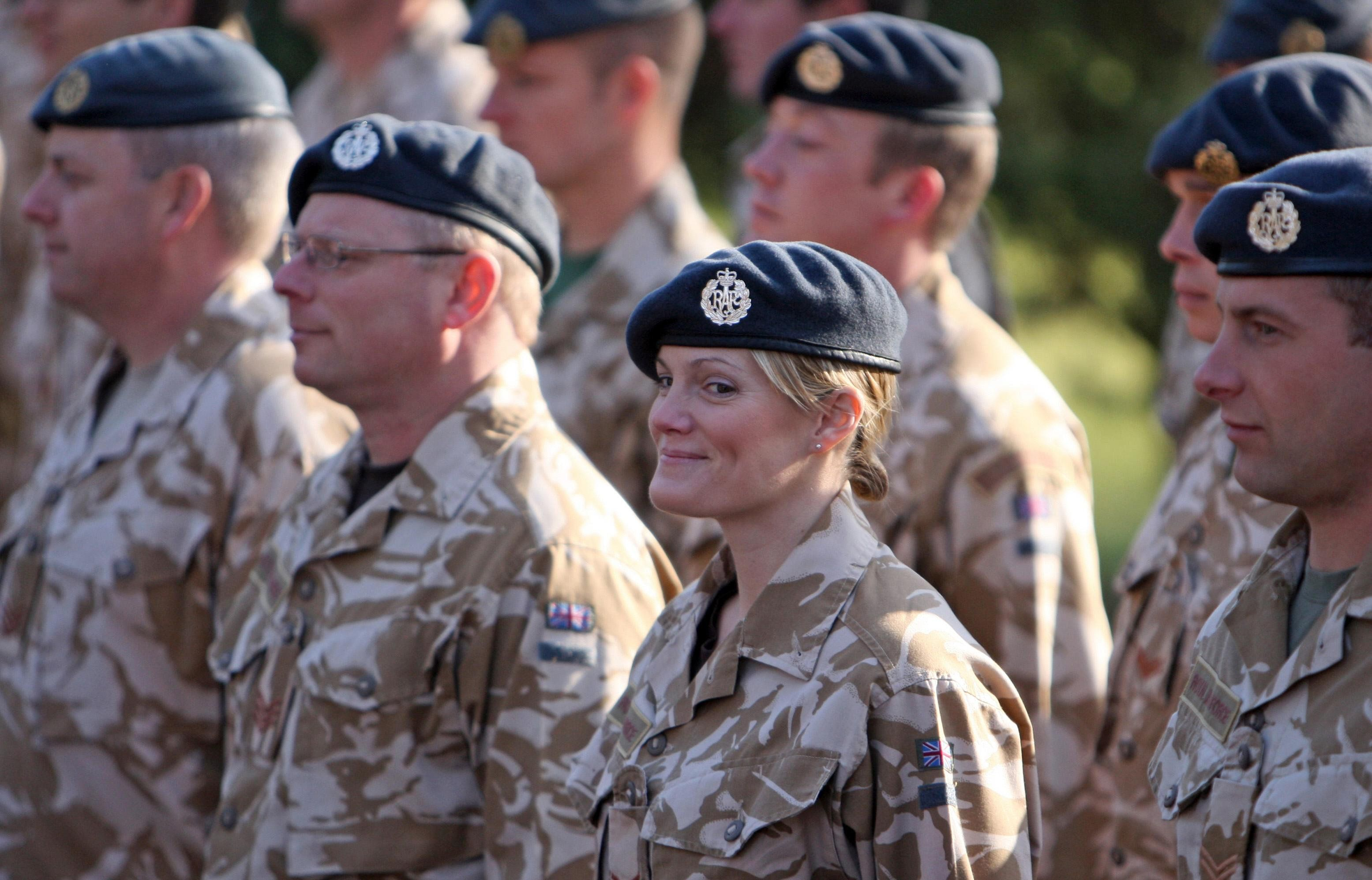 Women can now serve in 'close combat'