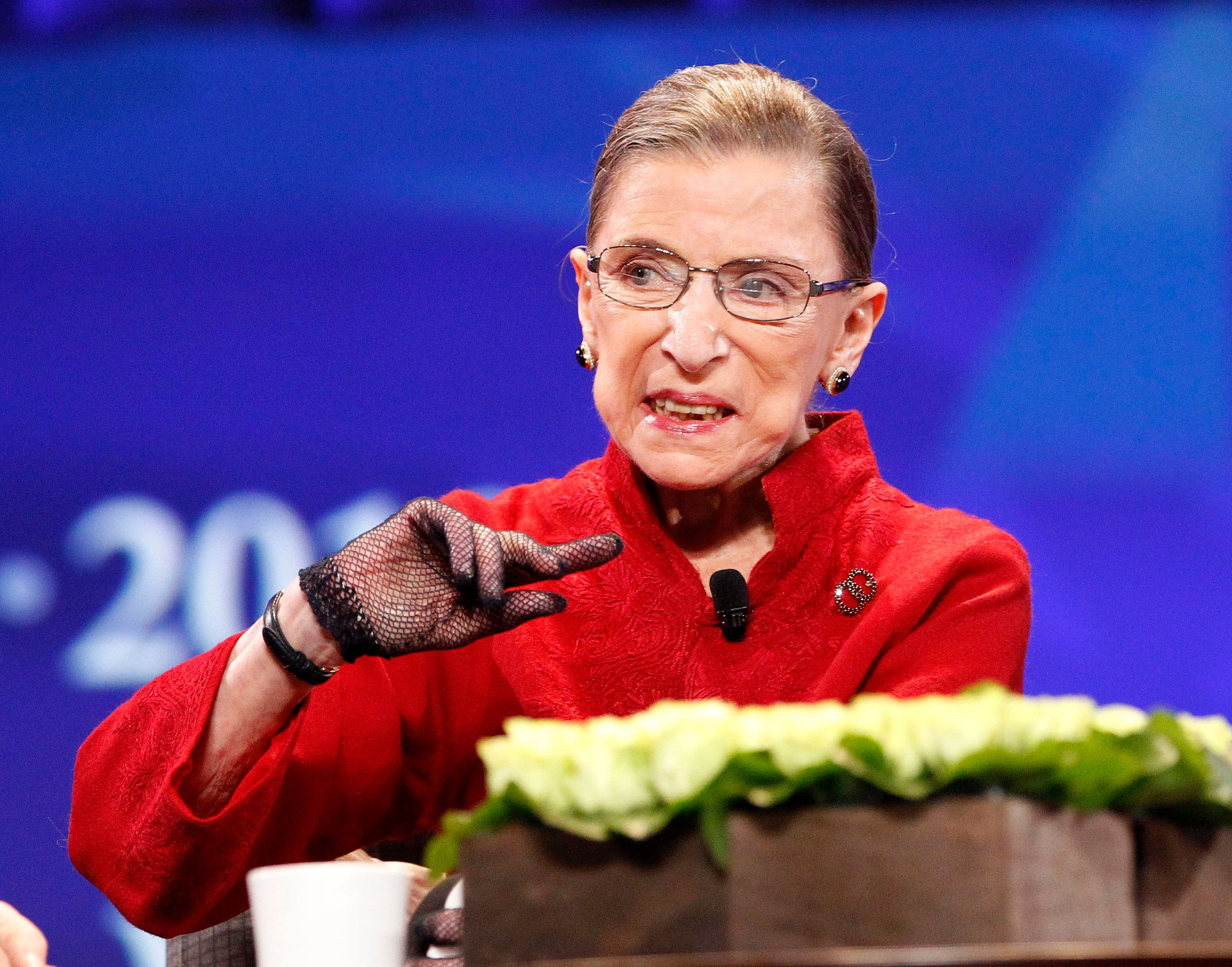 Ruth Bader Ginsburg would rather perish the thought of a future Trump presidency.