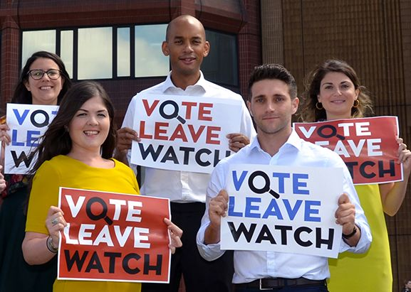 Umunna launched the 'Vote Leave Watch' project on