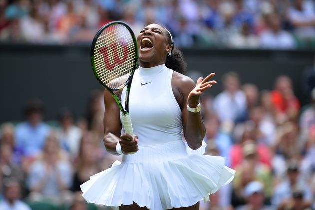 22! Williams tops Kerber at Wimbledon, ties Graf's Slam mark