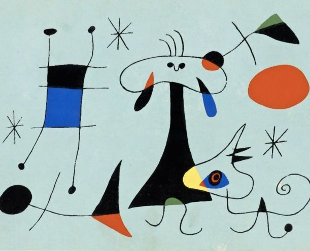 Joan Miró, The force of matter.