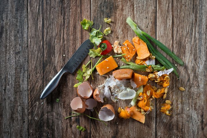 Food like this can be composted -- but some of it can even be repurposed and prepared in a meal.