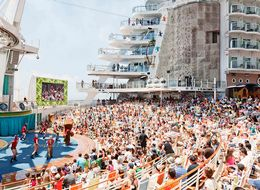 This Massive Cruise Ship Is Like A Giant Amusement Park For Adults