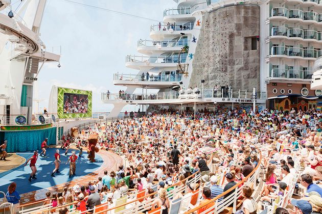 Maria Vittoria Trovato was keen on exploring how people interact aboard the giant cruise
