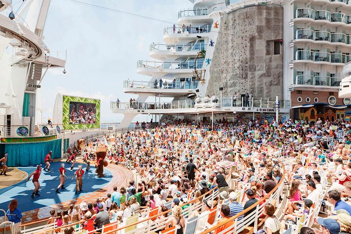 These Photos Take You Inside One Of The Worlds Largest Cruise - Pictures of the inside of a cruise ship