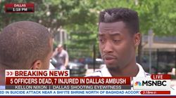 Dallas Shooting Eyewitness Says Exactly What We All Need To Hear After This