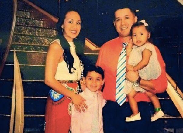 Slain Officer<i>&nbsp;</i>Patrick Zamarripa<i>&nbsp;</i>and his family<i>.</i>