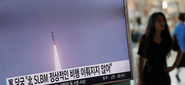 North Korea Fires Missile From Submarine But Test Reportedly Fails