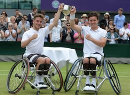 Men's Wimbledon Wheelchair Tennis Doubles Won By Brits For The Very First Time