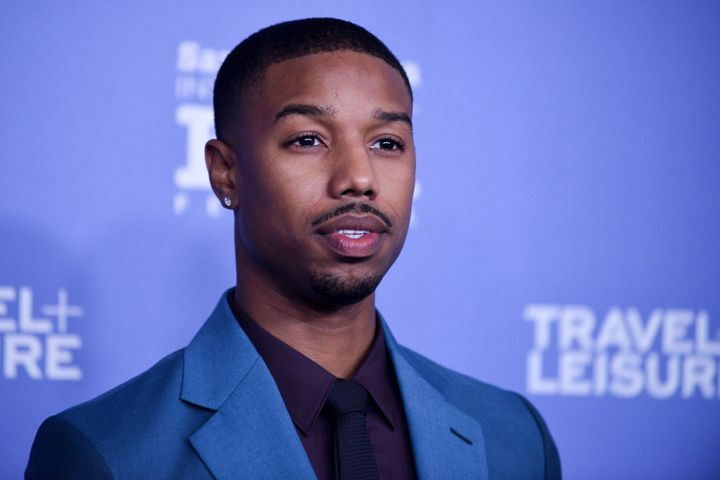 Michael B. Jordan at the Santa Barbara Film Festival in California in 2014.
