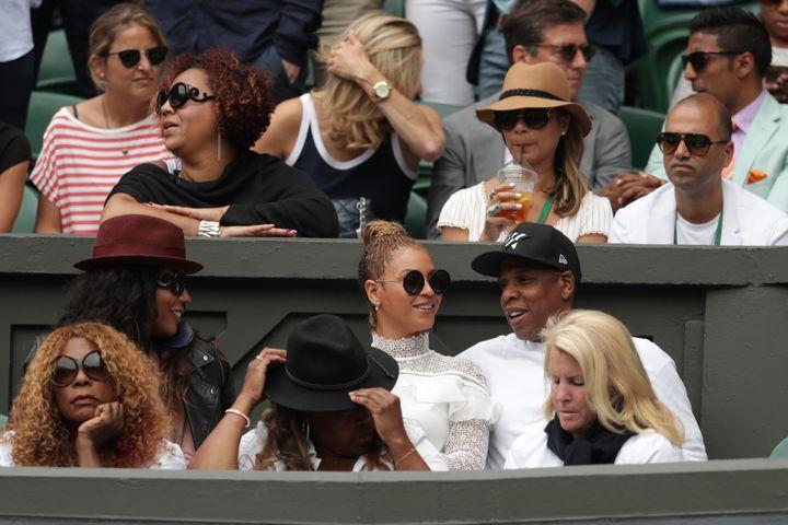 Spot the celebrity.