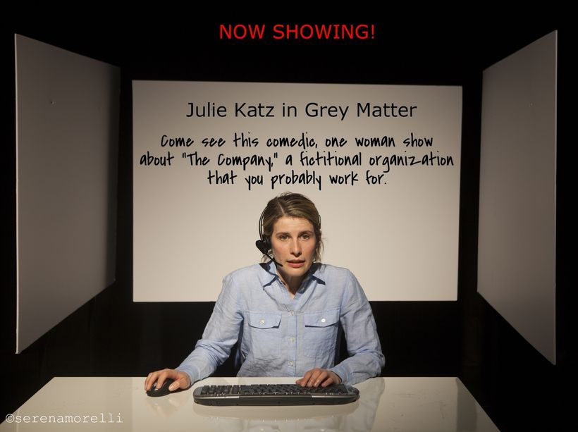 Julie Katz stars in <i><strong>Grey Matter</strong></i>