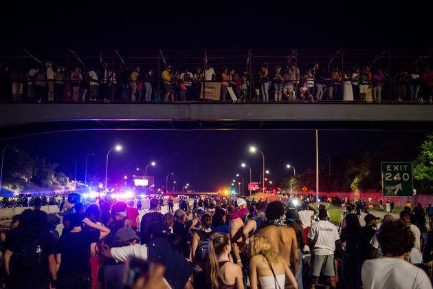 Protests Over Police Shootings Block Roads In U.S.
