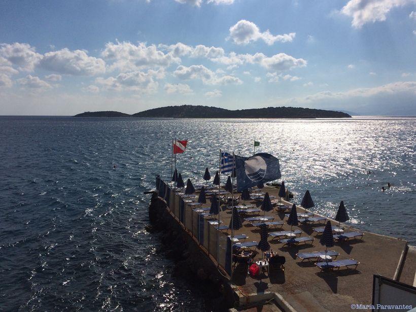 A view of Agios Nikolaos, Crete