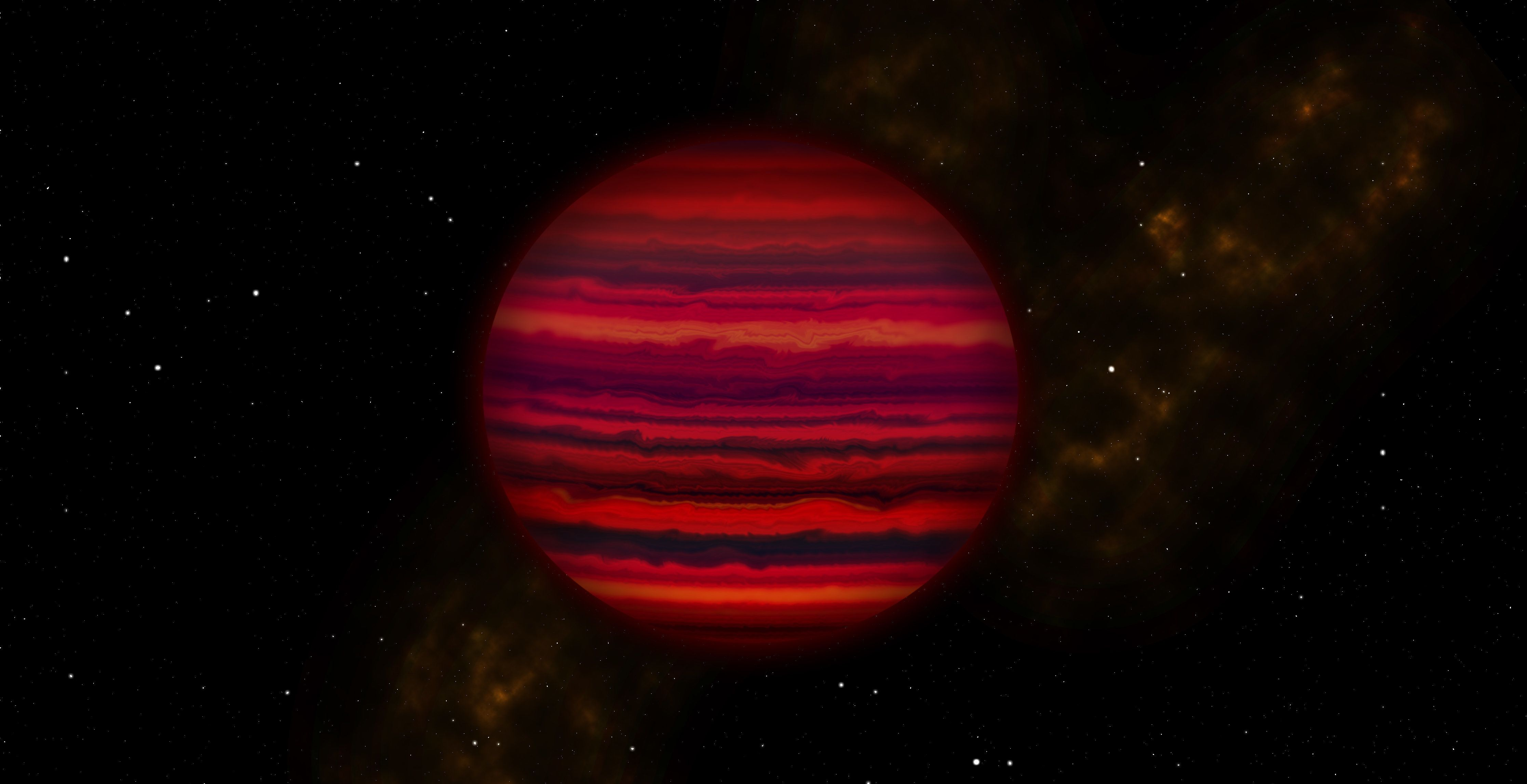 WISE 0855 was discovered in 2014 and is located 7.2 lightyears from Earth.