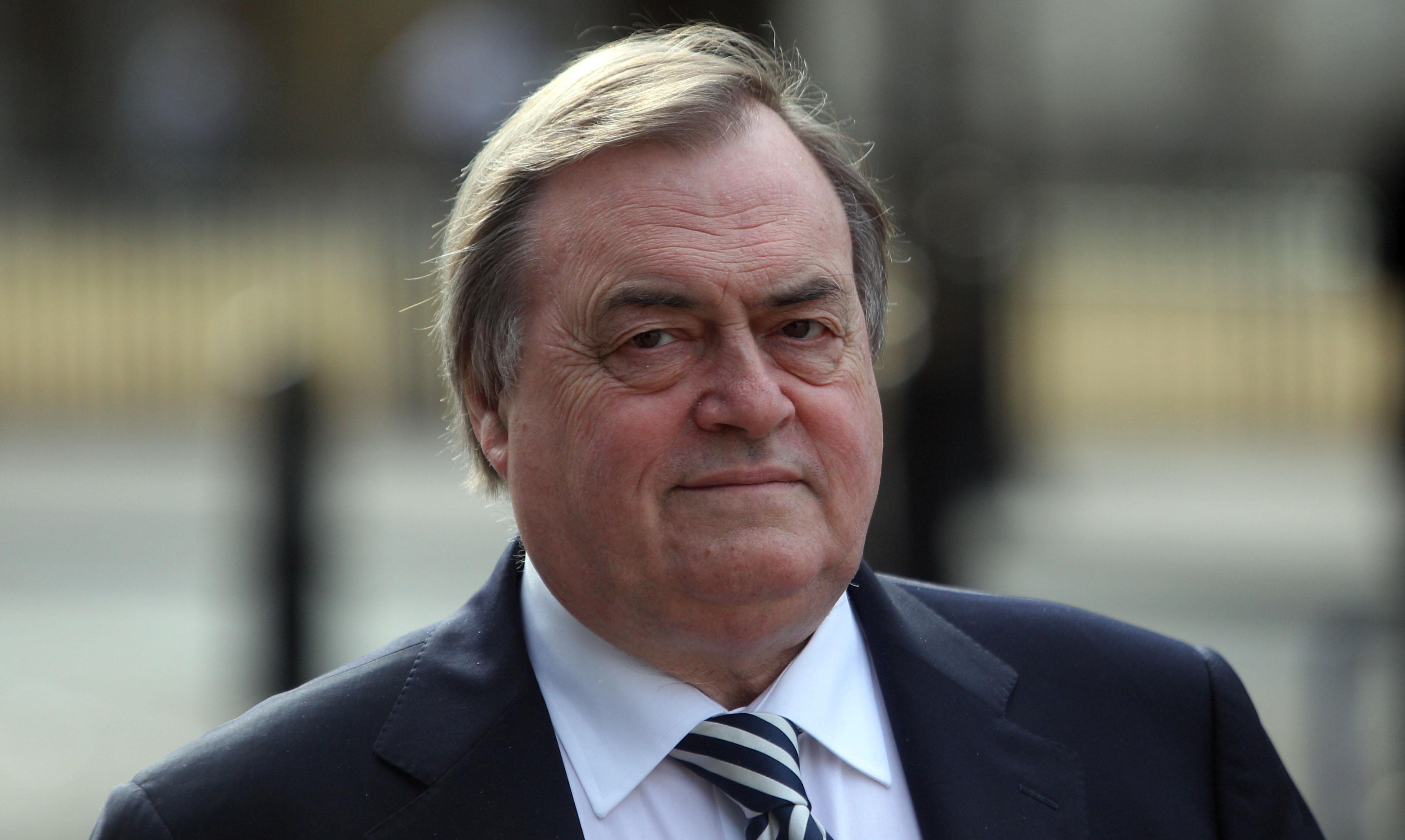 Lord Prescott has said the Iraq War was