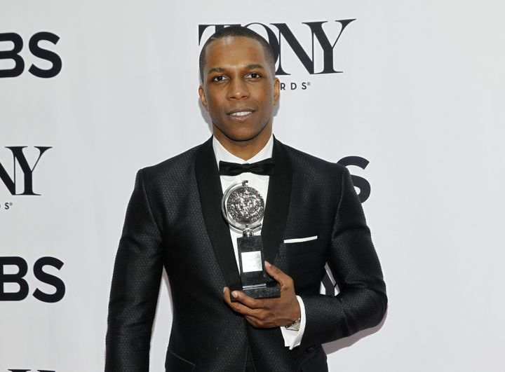 "Leslie Odom Jr., who won a Tony award for Best Performance in the Broadway musical ""Hamilton"" last month, dedicated his final"