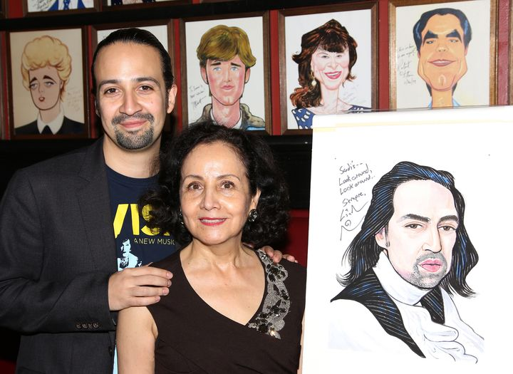 Lin-Manuel Miranda's mother, Luz Towns-Miranda, remembers the moment she knew her son brought something truly special to the