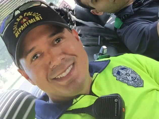 Patrick Zamarripa, a U.S. Navy veteran and father of a 2-year-old girl, was among five officers killedduring...