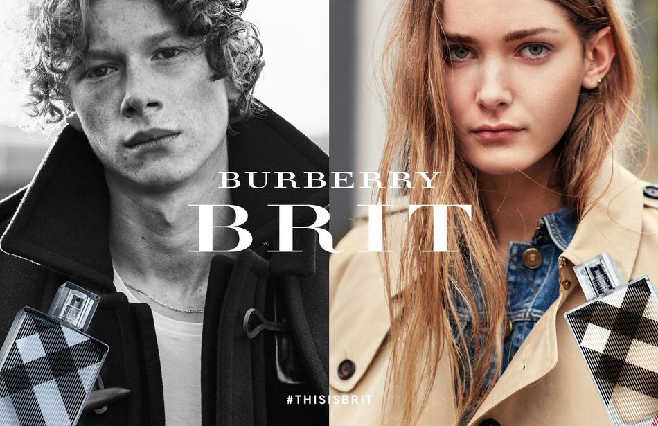 brooklyn beckham burberry brit fragrances