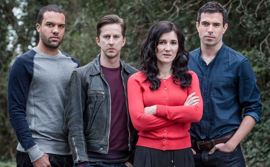 OT Fagbenie, Lee Ingleby, Sarah Solemani and Tom Cullen play the four friends of 'The Five',...