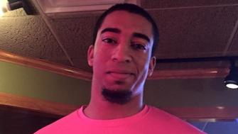 Tyler Gebhard, 20, was fatally shot by an off-duty police officer Saturday after allegedly breaking into the man's home.