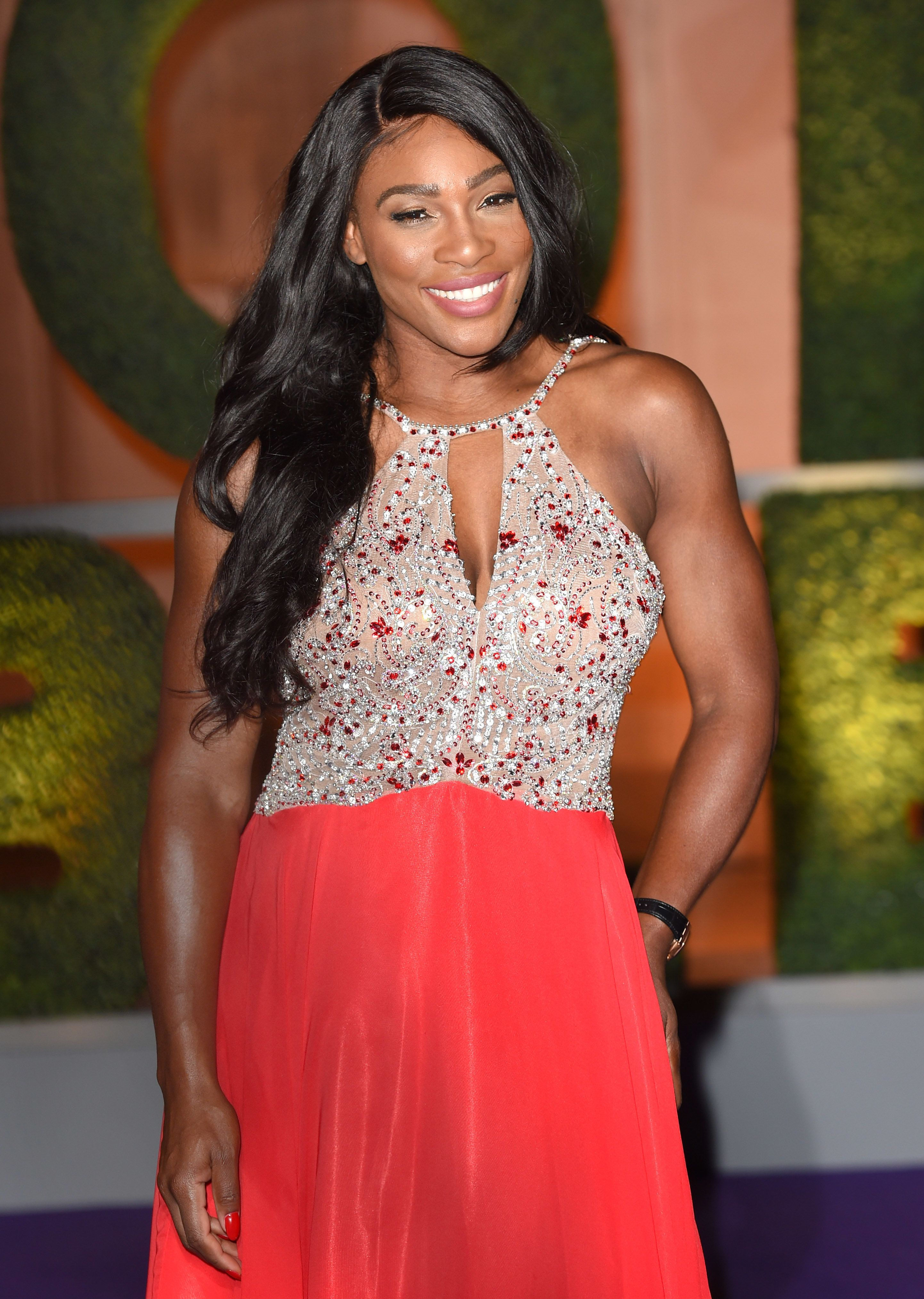 LONDON, ENGLAND - JULY 10:  Serena Williams attends the Wimbledon Winners Ball at The Guildhall on July 10, 2016 in London, England.  (Photo by Karwai Tang/WireImage)