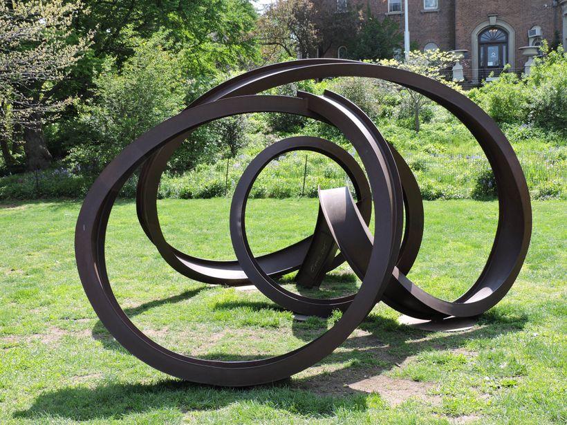 <i>ZerQues</i>, by Carole Eisner, at Litchfield Villa, 5th Street, Prospect Park, Brooklyn