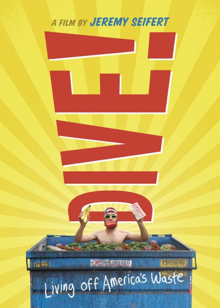 The poster for the movie <i>Dive!</i>
