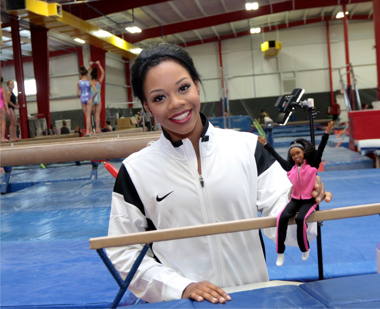 Gabby Douglas has her very own Barbie.
