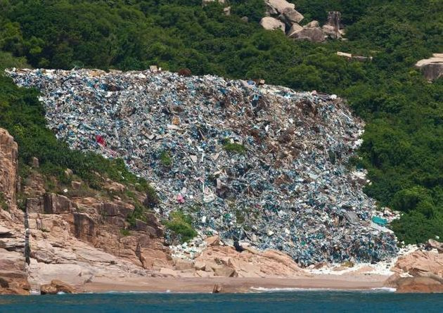 Why Huge Amounts Of Garbage Are Washing Up On Hong Kong's