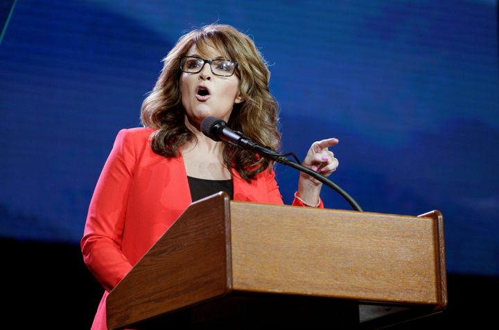 "Sarah Palin called Black Lives Matter protesters ""thugs."""