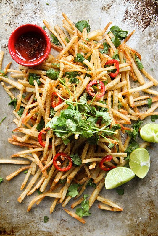 "<strong>Get the <a href=""http://heatherchristo.com/cooks/2014/03/16/lebanese-spiced-french-fries/"" target=""_blank"">Lebanese S"