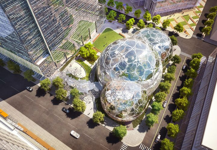 Amazon may eventually let members of the public tour the spheres.