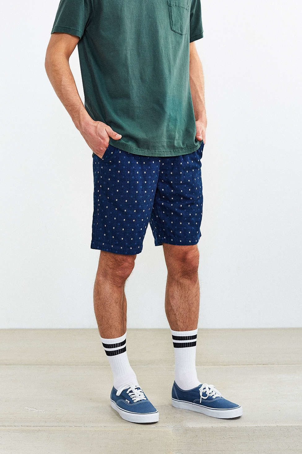 Wearing Shorts And Socks For Men