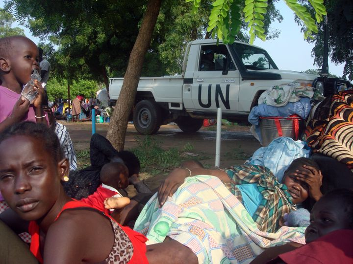 Recent violent outbreaksrisk driving evenmore people to refugee camps in neighboring nations and further destabil