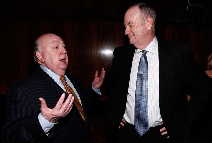 Roger Ailes and Bill O'Reilly, two of Fox News' most famous men who've been accused of sexual harassment.
