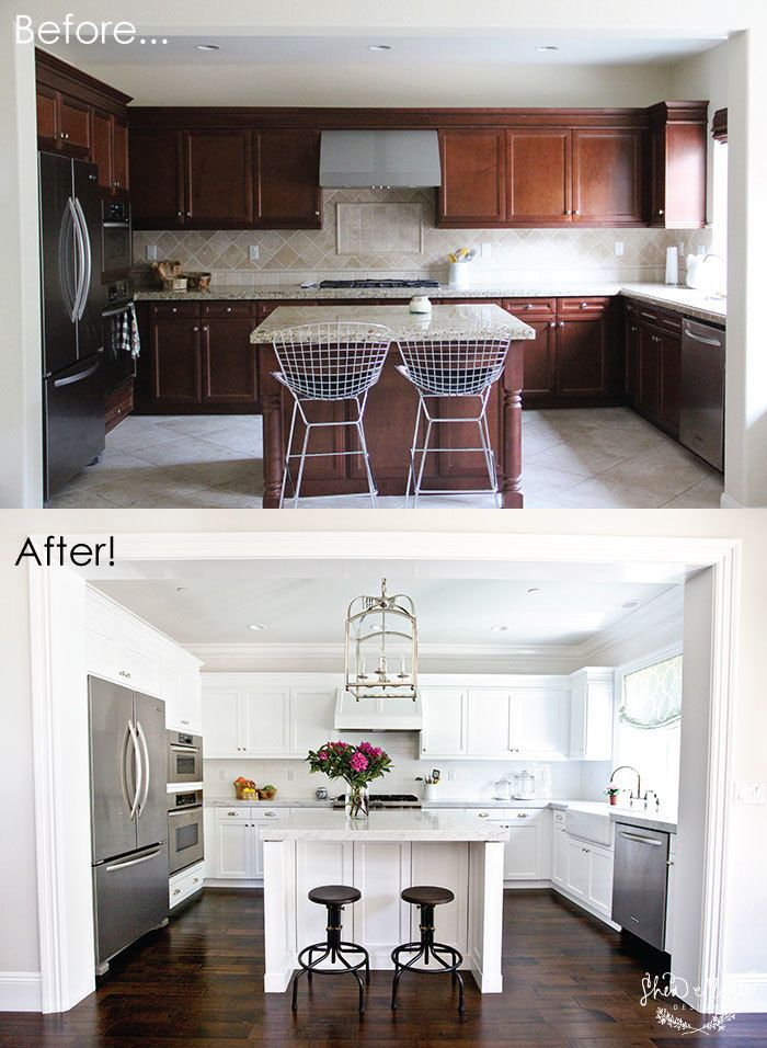 Kitchen Makeovers Before And After before and after: 7 amazing kitchen makeovers | huffpost