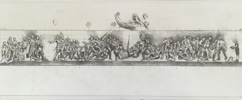 World War I Memorial Sketch - Sabin Howard