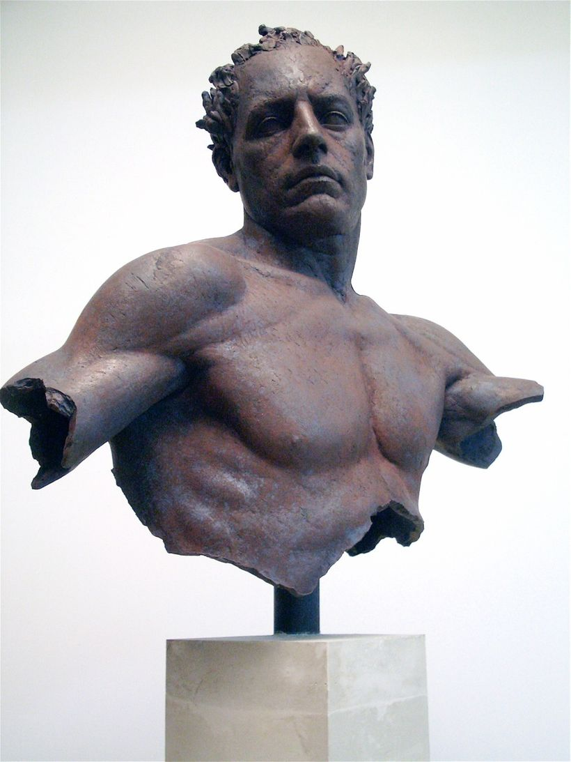 Hermes bust - Sabin Howard